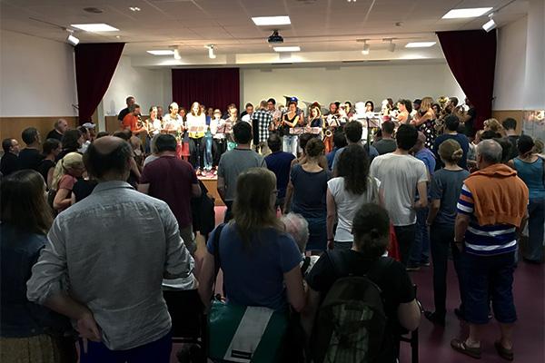 Baulücken-Konzert #10: Musikarbeiterinnenkapelle