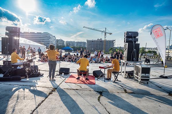 Baulücken-Konzert #7: Donauwellenreiter