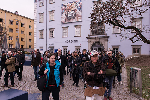 Guerillawalks Linz 2014, 2015