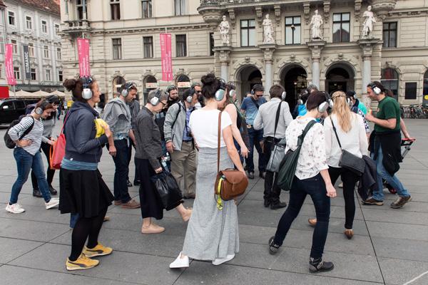 Guerillawalks Graz 2017 feat. Barbis Ruder