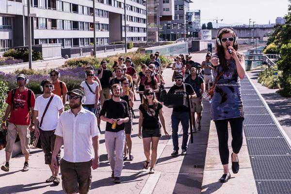 Walking Concert #11 - Binder & Krieglstein